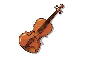Draw In 3d Online how to draw a violin step by step drawingnow