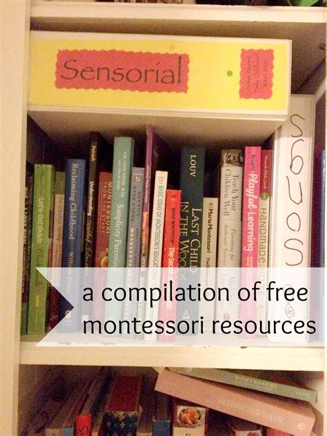 printable montessori work a compilation of free montessori resources this