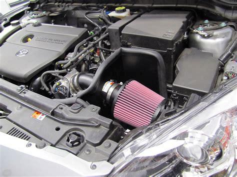 mazda 3 intake k n air intake system for 2010 to 2012 mazda 3 gains