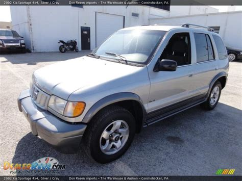 2002 kia sportage 4x4 silver gray photo 2 dealerrevs