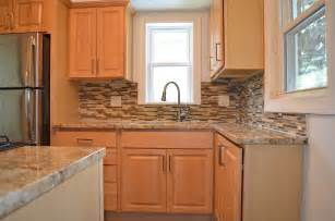Maple Kitchen Cabinets With Granite Countertops Kitchen Remodel With Maple Cabinets Granite
