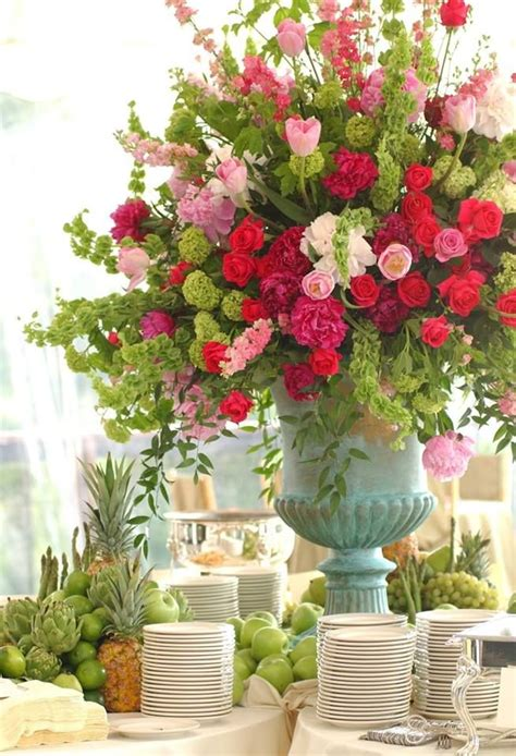 beautiful arrangement beautiful buffet table arrangements pinterest