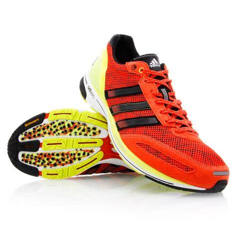 Adidas Adizero 2 adidas adizero adios 2 mens running shoes orange black yellow sportitude