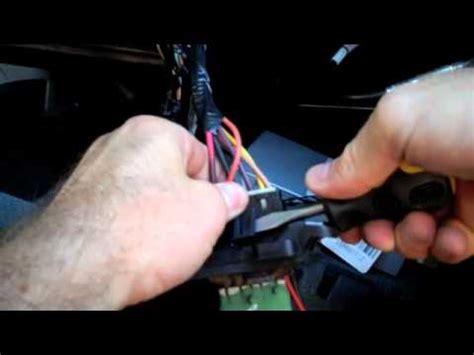 replacing  blower resistor   envoy youtube