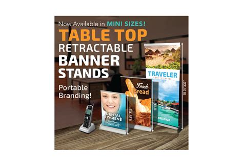 tabletop retractable banner stands the best banner 2017