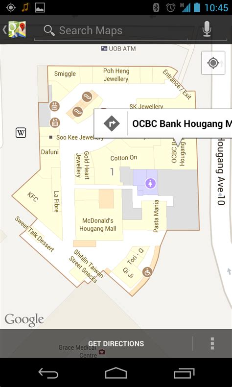 orchard central floor plan find shops in singapore with googles new indoor maps