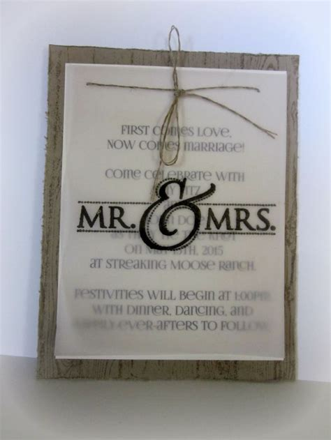 Ideas For Handmade Wedding Invitations - 25 best ideas about handmade wedding invitations on