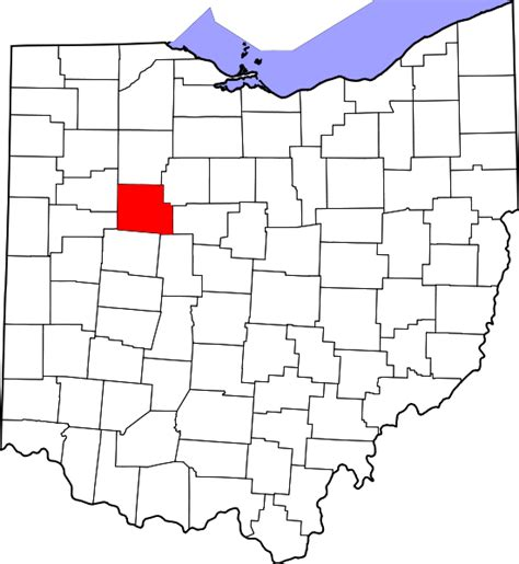 hardin county texas map file map of ohio highlighting hardin county svg wikimedia commons