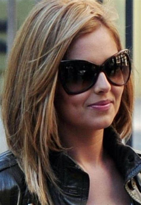 dipped hair color for an oval face 15 best of long haircuts for oval faces and thick hair