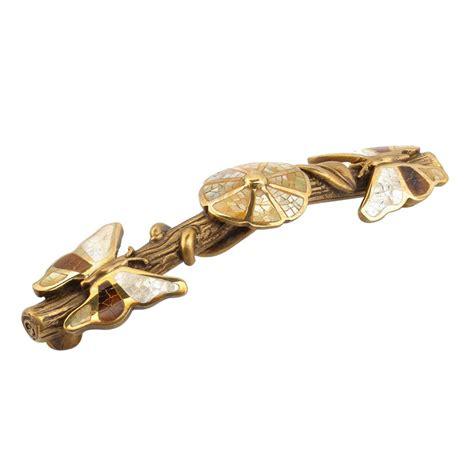 schaub cabinet pulls and knobs schaub and company shop 954p ab handles antique brass