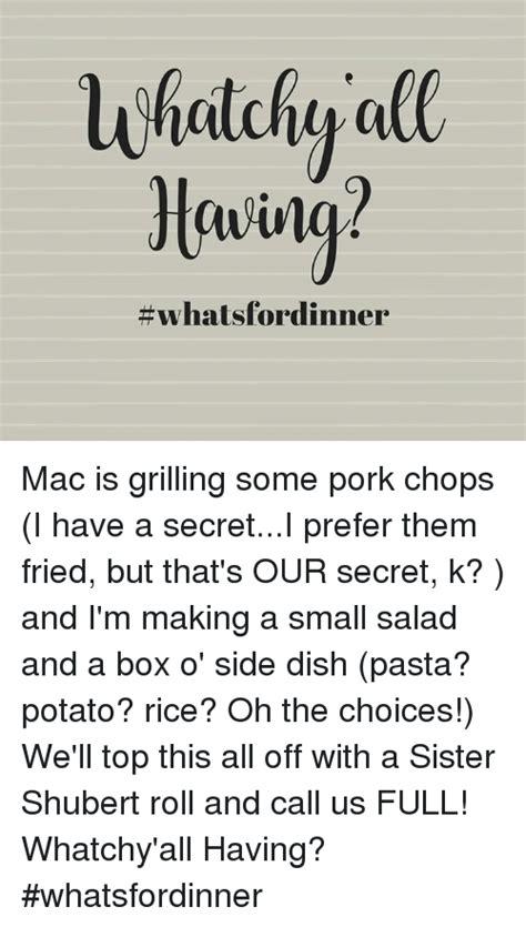Pork Chop Sandwiches Meme - search pork chops memes on me me