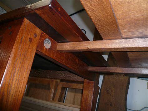 Handmade Oak Furniture - handmade extending oak refectory table quercus furniture
