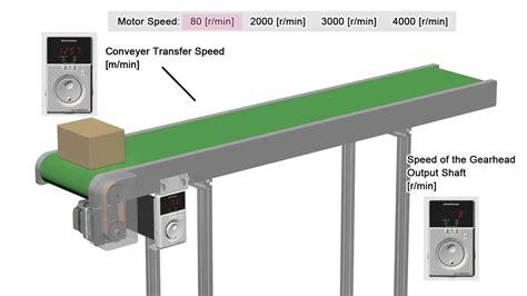 motor for conveyor bmu series bldc motor conveyor speed