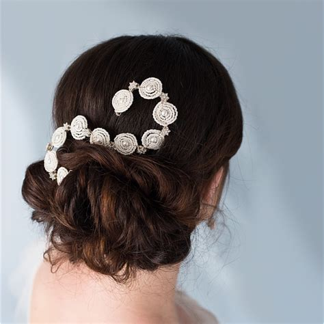 Wedding Hair Accessories Cheshire by Glorious Tiaras Combs Amelie Comb