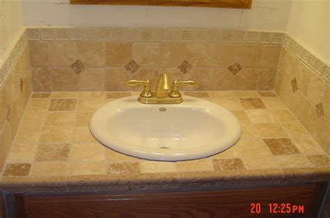 bathroom tile countertop ideas 30 magnificent pictures and ideas contemporary bathroom floor tile