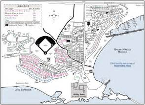 cgrounds map grand marais municipal rv park and cground grand