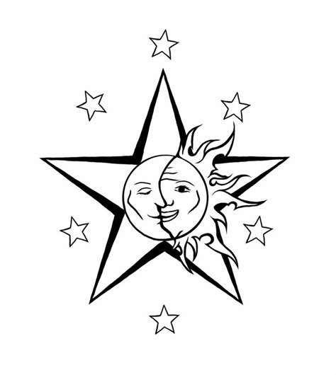 3 stars in the sun tattoo design 249 best images about moon ideas on