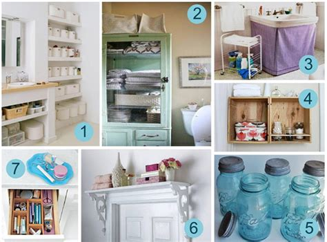 creative ideas for bathroom creative bathroom storage solutions