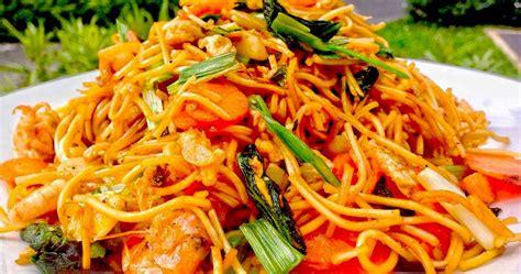 resep membuat mie goreng seafood bale bengong resto