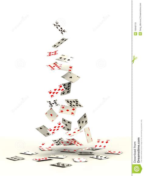 images of cards falling cards royalty free stock images image 19948119