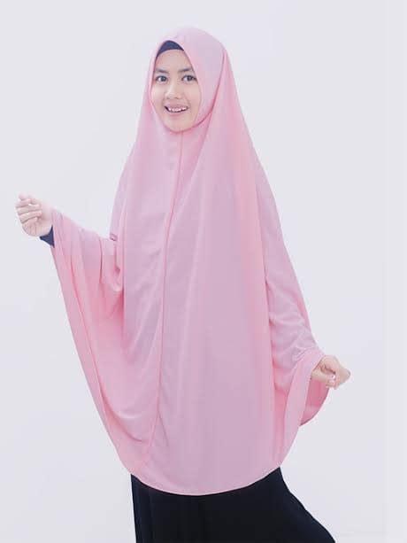 Syari Toscahijab Syari jual syari asyifa l warna pink gamis syar i eksklusif