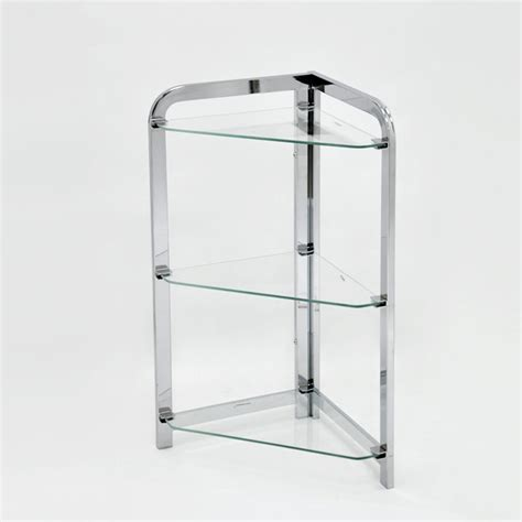 3 Tier Glass Shelf by Bathroom Corner Stand 3 Tier Glass Shelf Buy 3 Tier Glass