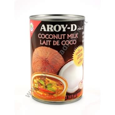 latte di cocco per cucinare aroy d coconut milk latte di cocco per cucinare 24x400ml