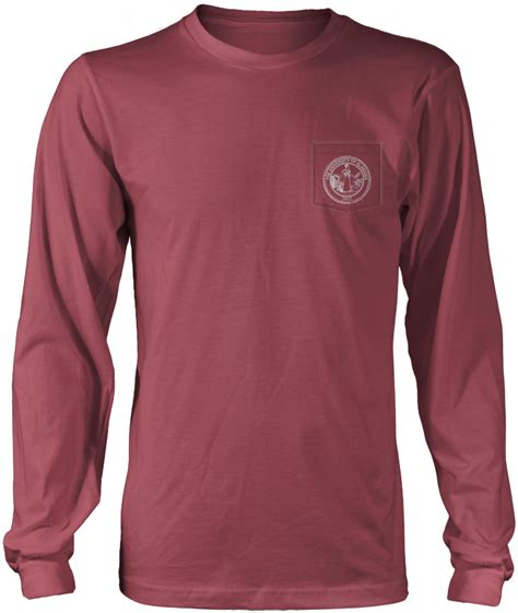 comfort colors long sleeve pocket alabama state retro comfort colors long sleeve pocket tee