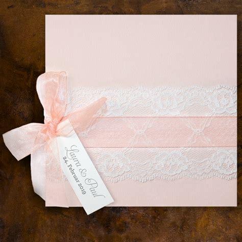 hochzeitseinladungen spitze kaufen rosa hochzeitseinladungen mit spitze ba727 021