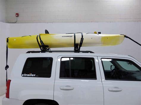ford focus rhino rack nautic  rear loading kayak carrier