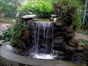 Rock Garden Waterfall Garden Ponds And Garden Waterfalls Landscaping