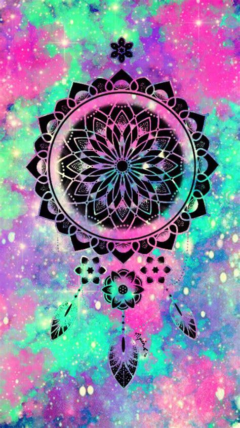 girly dreamcatcher wallpaper cute galaxy dreamcatcher wallpaper wallpaper creations