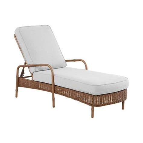 Chaise Lounge Cushion Slipcovers hton bay clairborne patio chaise lounge with cushion insert slipcovers sold separately