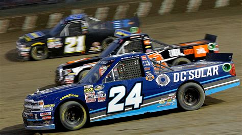 truck racing series nascar truck series results at eldora kyle larson