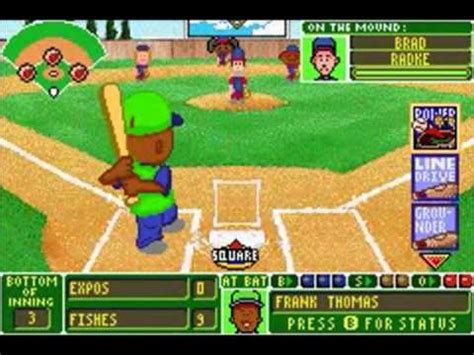backyard baseball gba backyard baseball gba nl chionship game 1 youtube