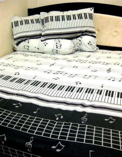 music note comforter set theme your room to music