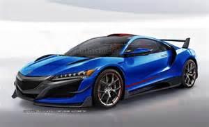Type R Acura Acura Nsx Type R Speculative Render 2016 Acura Nsx Forum