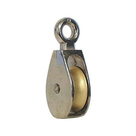 awning pulley single zinc plated awning pulley
