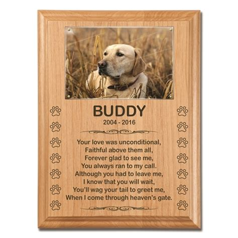 poems about dogs memorial plaque for dogs