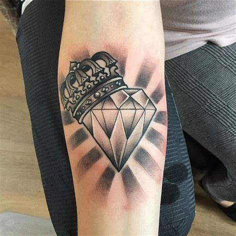 diamond tattoo and custom art 45 luxury diamond tattoo designs and meaning treasure