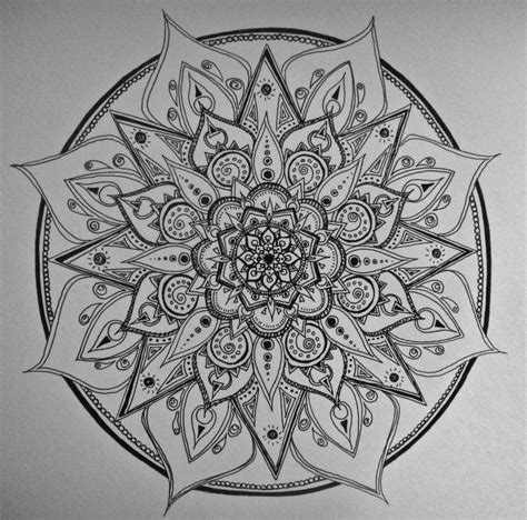 pattern ideas for mandalas top outline dotwork mandala images for pinterest tattoos