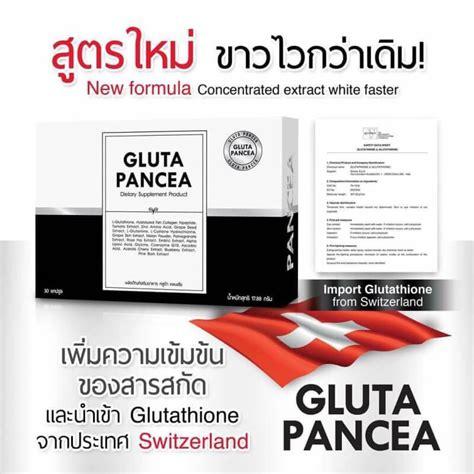 Obral Gluta Pancea By Wink White Thailand Dijamin Original new gluta pancea panacea b v l glutathione collagen