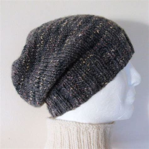 fashion forward knit hat free pattern from red heart yarns knitting pattern charley mans slouchy hat pattern mans