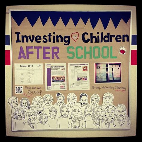 themes for college programs our new bulletin board investing in children after school