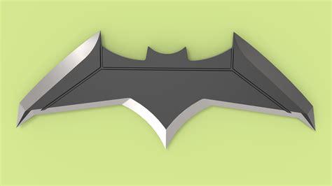 batarang batman vs superman of justice 3d model obj stl sldprt sldasm slddrw ige igs iges