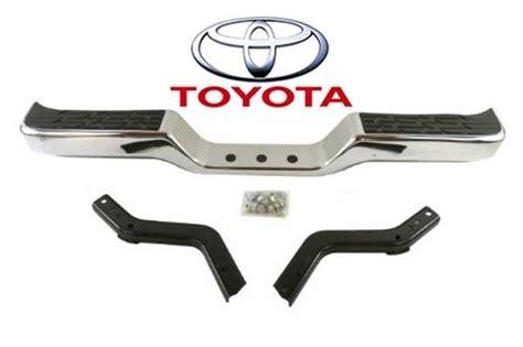 89 Toyota Rear Bumper Genuine Toyota Truck 89 95 Deluxe Rear Chrome Step