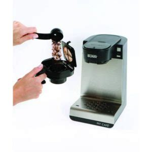 Bunn Cafe Ground Coffee Drawer by Bunn Cafe Mcu Single Cup Coffee Brewer Review Coffeeble