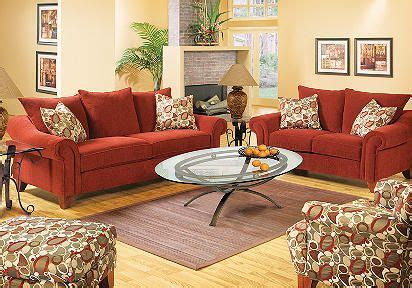 red sofa yellow walls conrad red 7 pc livingroom like the yellow walls with
