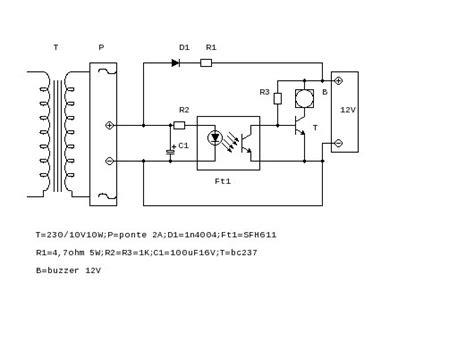 miglior li transistor grix it forum vorrei costruire un cicalino che quando manca tensione inizi a suonare