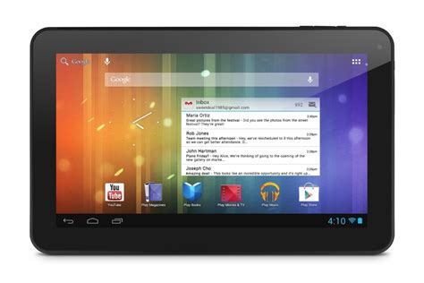 ematic introduces the genesis prime xl android tablet notebookcheck net news - 10 Android Tablet